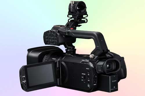 Камеры Canon GX10, XF400 и XF405 снимают видео 4K @ 50 fps