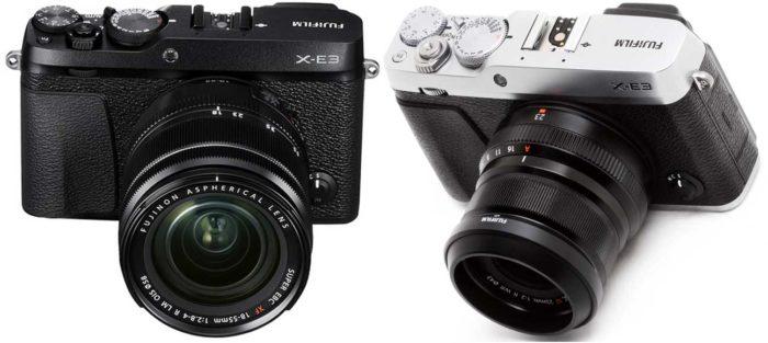 Fujifilm X-E3 дизайн