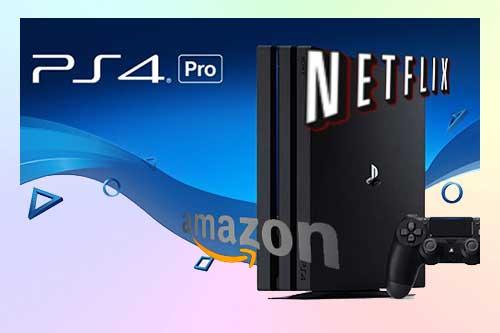 Как смотреть видео 4K на PS4 Pro через USB, Youtube, Netflix, Amazon