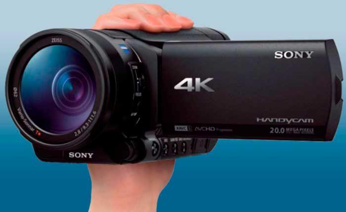 Sony FDR-AX700 обзор