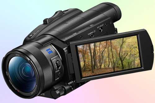 Sony FDR-AX700 4K HDR - полупрофессиональный камкордер