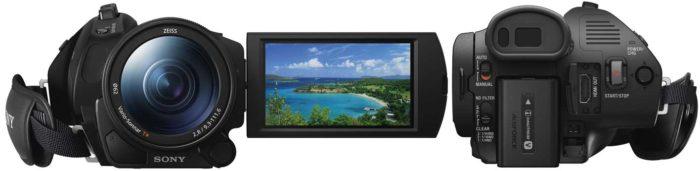 Sony FDR-AX700 внешний вид