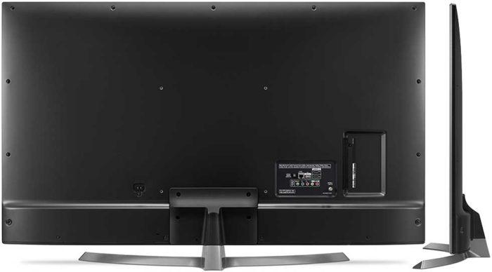 LG UJ670V тыл телевизора