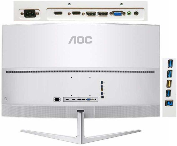 AOC C4008VU8 подключения