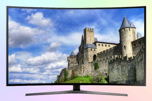 AOC C4008VU8 4K UHD с изогнутым экраном