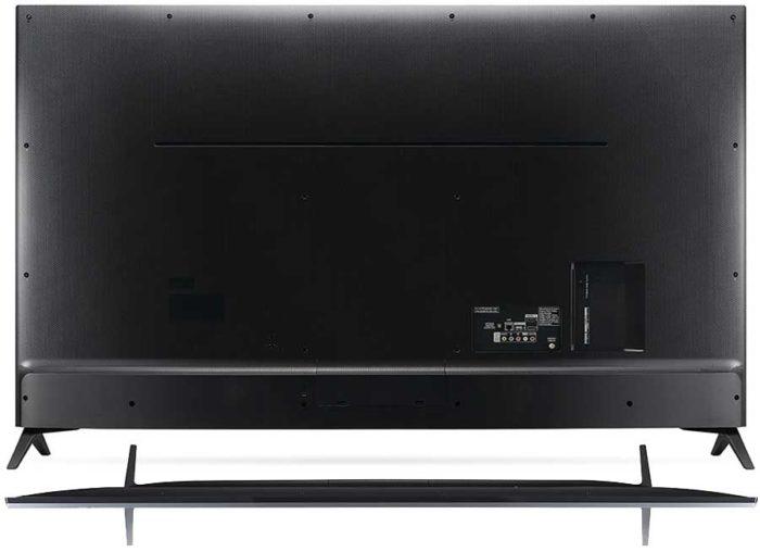 LG UJ740V задняя панель
