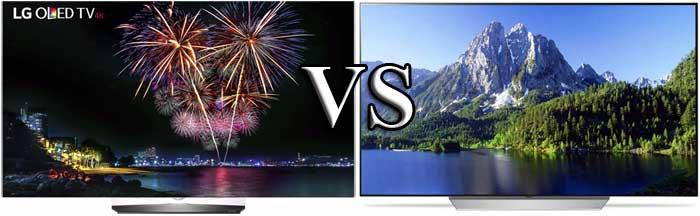 LG OLEDB6V и LG OLEDC7V отличия
