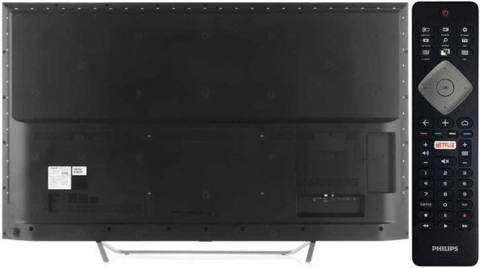 Philips PUS6412 тыловая панель