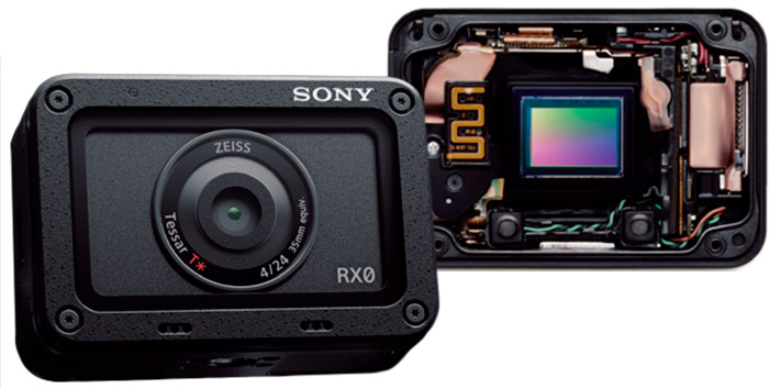 Sony DSC-RX0 сенсор и объектив