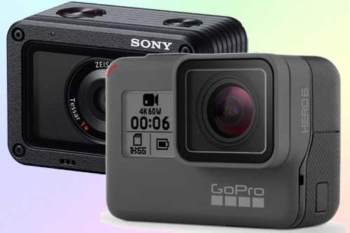 Сравнение GoPro hero 6 и Sony RX0. Что лучше?