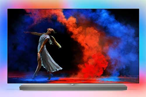 Телевизоры Philips OLED 2018 года