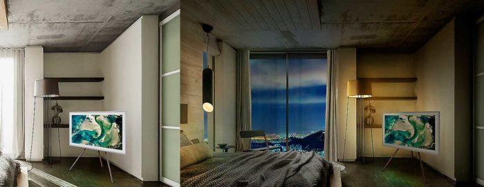 Samsung LS003AU освещенность комнаты