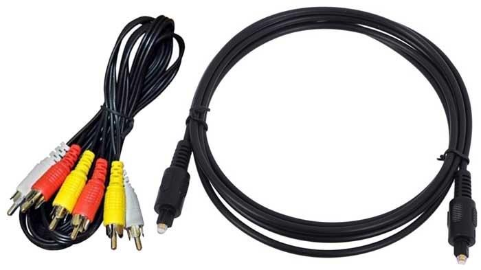 Как подключить наушники к телевизору 4K RCA и TosLink