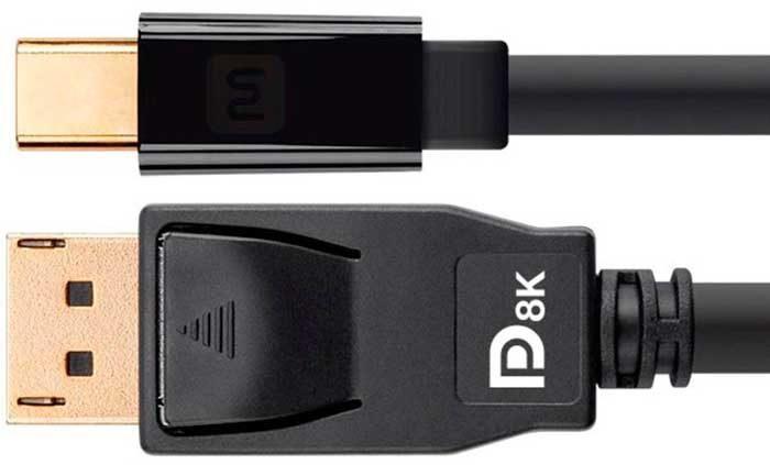 DP8K Certified DisplayPort для 8K HDR