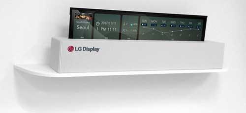 Первый OLED 4K от LG с рулонным дизайном