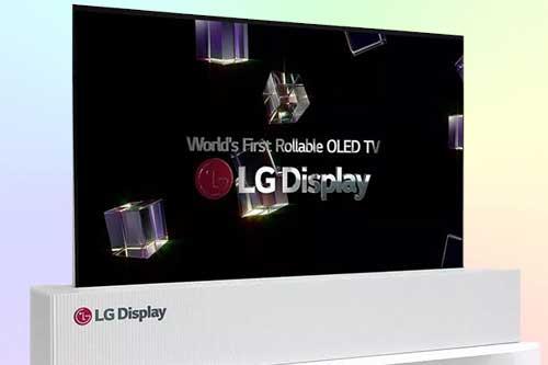 OLED 4K от LG с Rolls Up дизайном