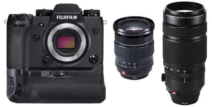 Fujifilm X-H1 батарейный блок
