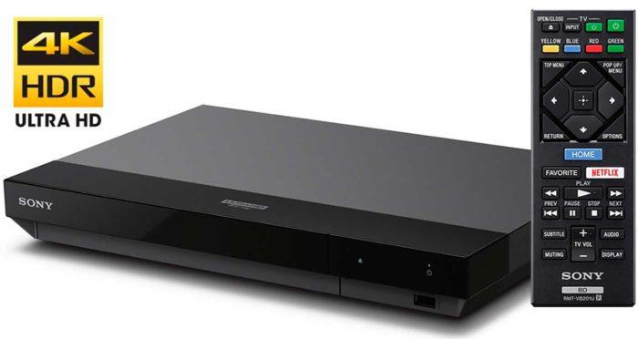Sony UBP-X700 обзор