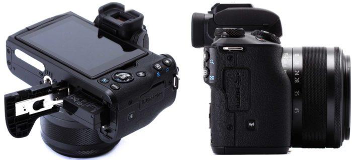 Canon EOS M50 интерфейс