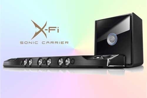 Creative X-Fi Sonic Carrier с 15.2-канальной конфигурацией