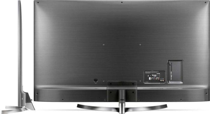 LG UK7550 дизайн задней панели