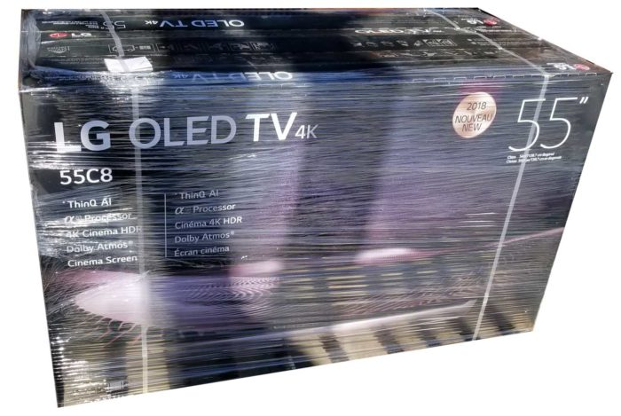LG C8V упаковка