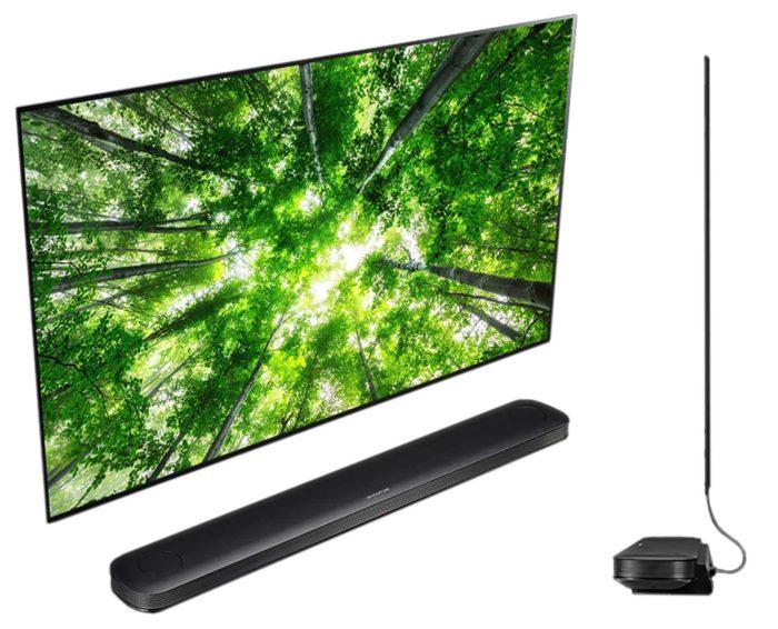 LG OLED65W8 дизайн