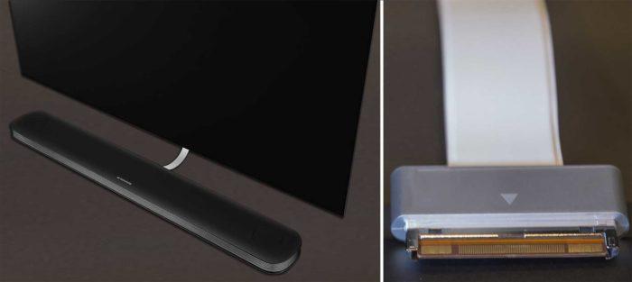 LG OLED65W8 кабель с разъемом