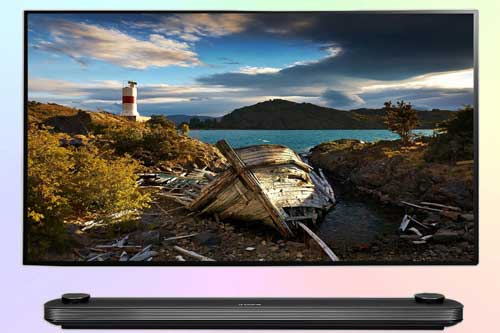 LG OLED65W8 - флагманская модель LG OLED