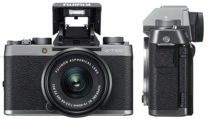 Fujifilm X-T100 дизайн