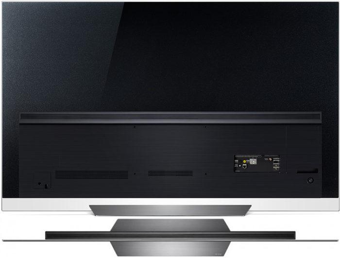 LG OLED65E8 тыловая панель
