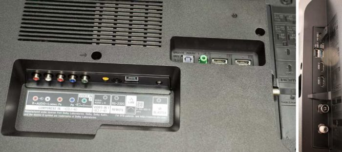 Sony XF80 интерфейсы