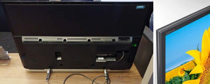 Sony XF80 тыловая панель