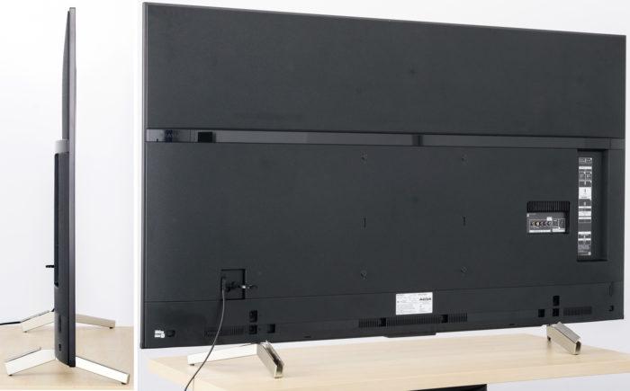 Sony XF85 тыловая панель
