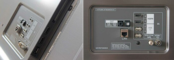 LG SK8100 интерфейсы