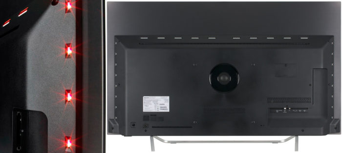 Philips 65OLED873 тыл и подсветка