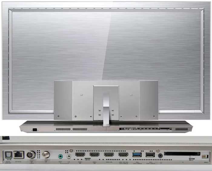 Philips 65OLED973 задняя панель и подключения
