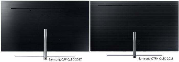 Samsung Q7FN и Q7F отличия