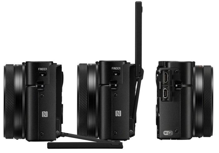 Sony Cyber-shot DSC-RX100 Mark VI дизайн