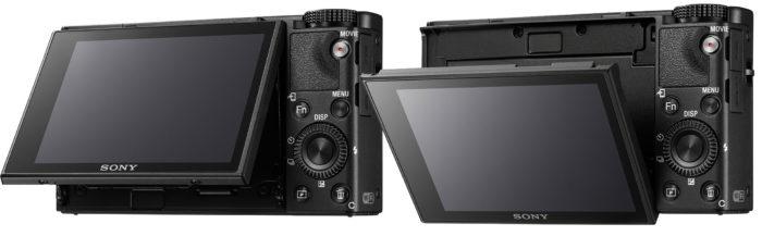 Sony Cyber-shot DSC-RX100 Mark VI экран