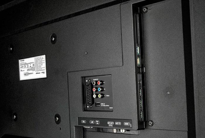 Toshiba 49U7763DG интерфейсы