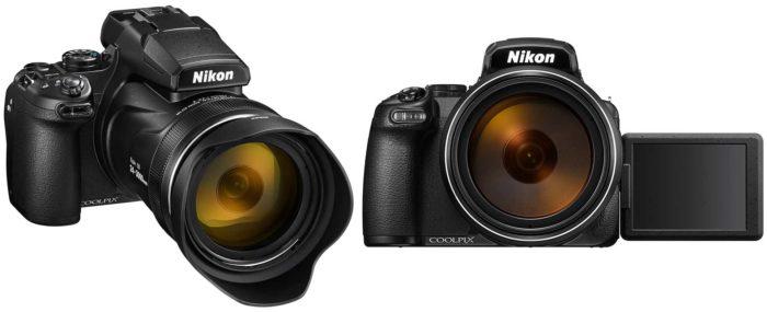 Nikon Coolpix P1000 экран