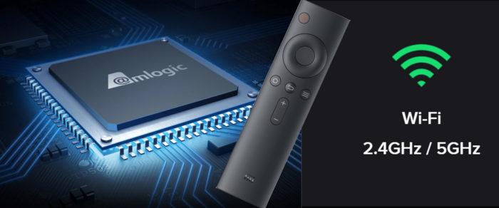 Xiaomi Mi TV 4S процессор и пульт