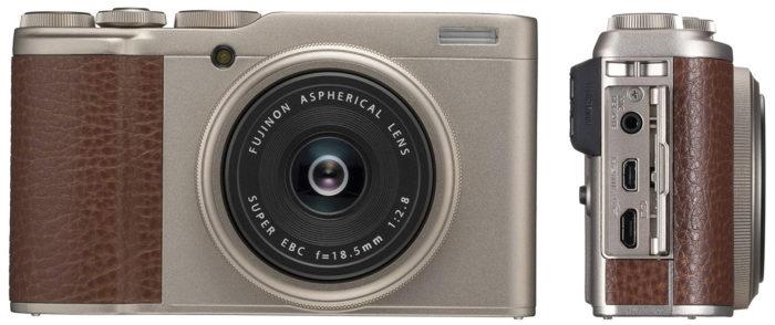 Fujifilm XF10 интерфейсы