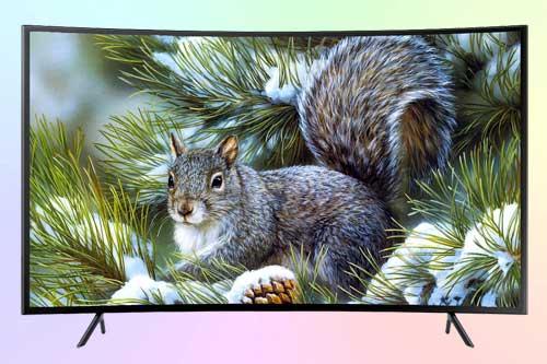 Samsung UE55NU7300U 4K HDR с изогнутым экраном