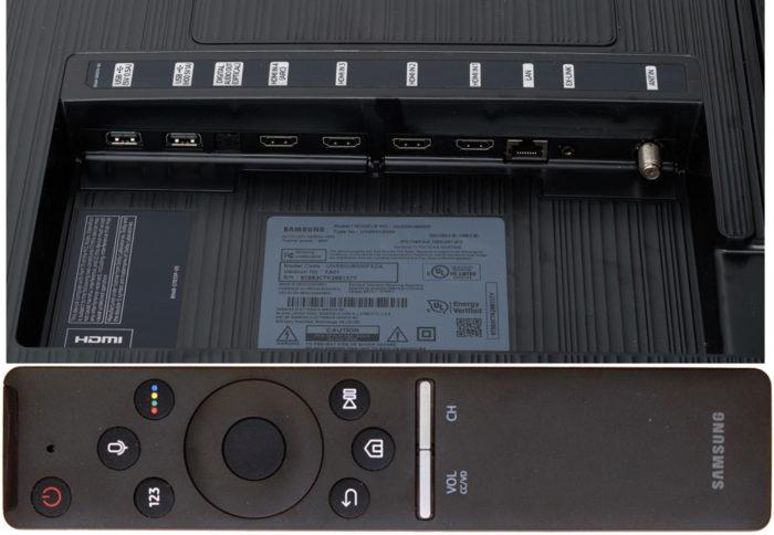 Samsung NU8070 интерфейсы