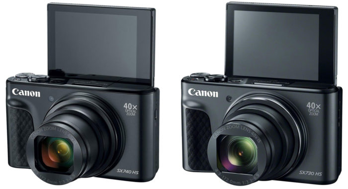 Canon SX740 и SX730 отличия