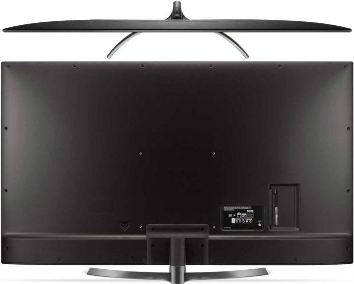 LG UK6750 тыловая панель