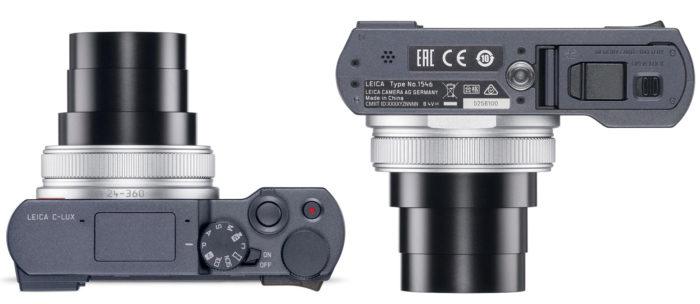 Leica C-Lux интерфейсы, питание