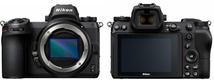 Nikon Z6 Z-series сенсор и дизайн